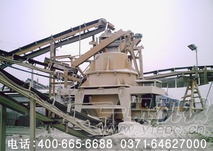 湖南永州圆振动筛客户生产现场